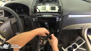 2011 ford fusion dash replacement with metra dash kit youtube