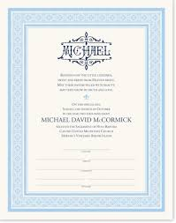 religious and christian child baptism and christening certificates