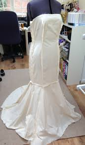 make your own wedding dress fishtail wedding dress pattern the front wedding