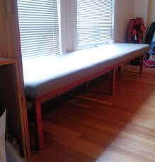 we built a bench diy upholstered bench