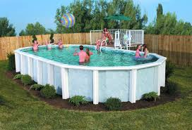 idea for above ground pool landscaping successful decision for