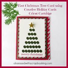 cricut creative cards tree