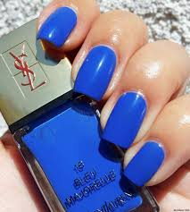 boombastic nails blue is my 2nd favorite color