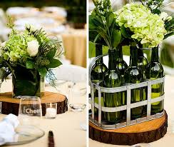 wine bottle centerpieces beautiful wine bottles centerpieces for any table