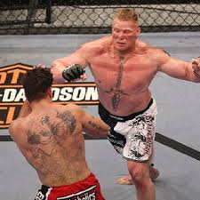 frank mir back brock lesnar chest ink tattoos