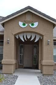 Halloween Decorations To Make At Home Best 25 Halloween Monster Doors Ideas On Pinterest Halloween