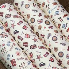 christmas wrapping paper sets aliexpress buy free shipping retro britain london pattern
