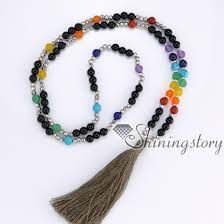 wholesale beaded necklace images 7 chakra jewelry meditation beads prayer bead store tassel jpg