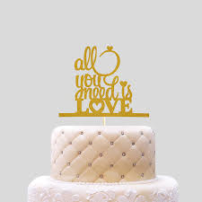 all you need is cake topper online get cheap cake is all you need aliexpress
