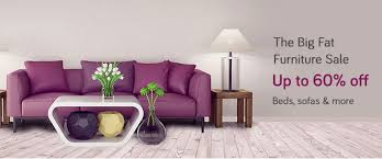snapdeal furniture sale upto 60 beds sofas more ontechbuzz
