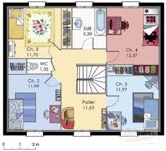 plan maison etage 4 chambres 1 bureau maison à étage 1 dé du plan de maison à étage 1 faire