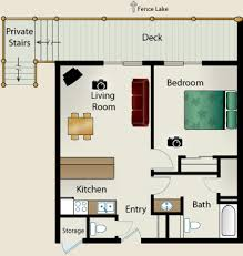 One Bedroom House Floor Plans Stylish 1 Bedroom House Plans Designs On Bedroom Shoise Com