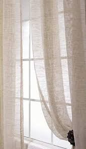 Ivory Linen Curtains Drapery Linens