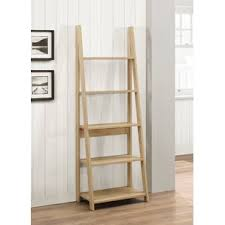 Walnut Ladder Bookcase Bookcases You U0027ll Love Buy Online Wayfair Co Uk