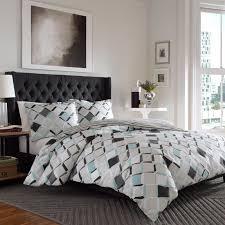 superior 300 thread count 100 cotton trellis pattern duvet cover