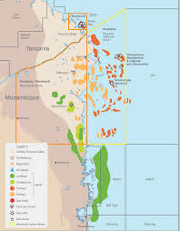 Mozambique Map Africa Oil Week Mozambique To Launch New Bid