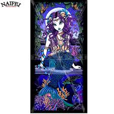 mermaid painting and promotion shop for promotional mermaid