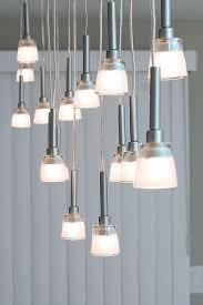 Ikea Lighting Chandeliers Mini Pendant Chandelier Made From Ikea Lamps 9 Steps With Pictures