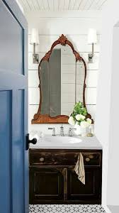 antique bathrooms designs guest bathroom using an antique mirror chest turned vanity