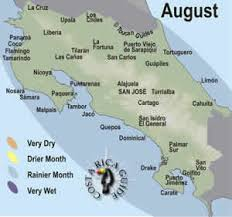 san jose costa rica on map august best time to travel in costa rica