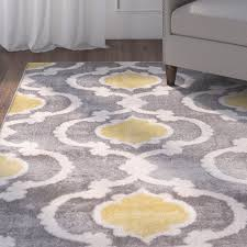 Grey Area Rug Andover Mills Gray Area Rug Reviews Wayfair