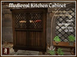 kitchen cabinet box second life marketplace iolair medieval kitchen cabinet box