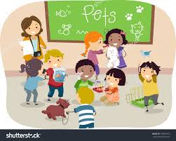 students clean up room clipart clip art library
