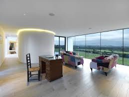 upside down house new dwelling dinas powys loyn co architects