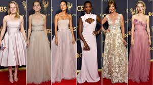 emmys red carpet trends 2017 see the hottest fashion looks