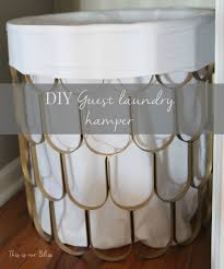 Round Laundry Hamper by Great Find Quick Fix 2 Diy Hamper This Is Our Bliss
