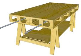 Free Wood Workbench Designs by The Ultimate Work Bench Thisiscarpentry