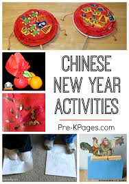 New Year Decoration For Preschool by 10 Ideas For Chinese New Year Pre K Pages