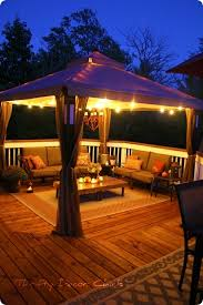 Backyard Canopy Ideas Deck Canopy Ideas Outdoor Furniture Design And Ideas