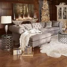 Tufted Sectional Sofa Not Your Average Sectional This Chesterfield Style Piece Has