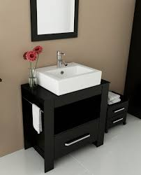 avola 32 inch vessel sink bathroom vanity espresso finish