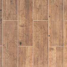 brunswick oak wood plank ceramic tile 7in x 24in 100106897