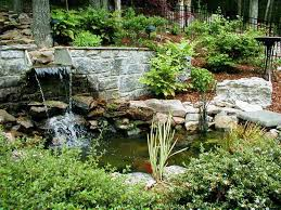backyard waterfalls design ideas