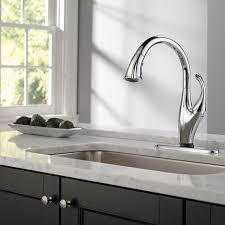 delta addison touch activated kitchen faucet with pull down spray