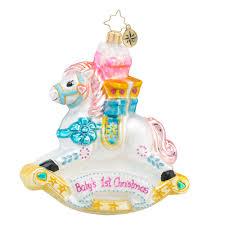 radko 1018421 rockin newborn baby s ornament