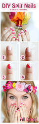 the joy of fashion beauty easy horizontal split nails tutorial