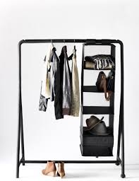 Decorative Metal Garment Floor Rack by Keep Your Wardrobe In Check With Freestanding Clothing Racks