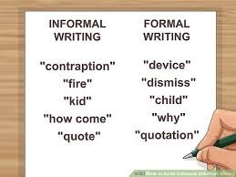 Other Words For Comfortable How To Avoid Colloquial Informal Writing With Examples