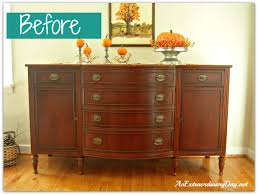 Mahogany Sideboards And Buffets Annie Sloan Chalk Paint Transforming A Vintage Sideboard With