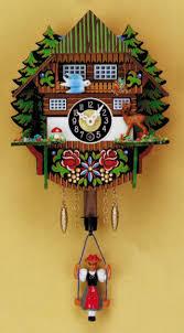 German Clocks German Clock With Spring Movement 7