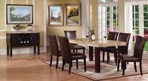 marble dining room set faux marble top dining set at gowfbca true contemporary fraser