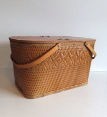 vintage picnic basket vintage picnic basket wicker picnic basket picnic