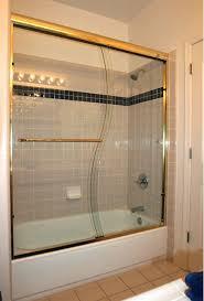 Gold Shower Doors Cardinal S Curve