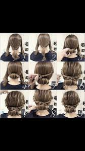 easy updo for medium length hair natural hair style braids