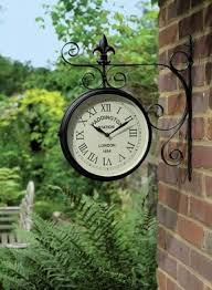 Pottery Barn Outdoor Clock Station Wall Clock Foter