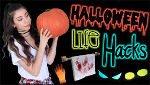 8 life hacks for halloween cheap u0026 easy diy decorations youtube